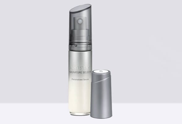 Concentrado Control de Imperfecciones y Suero de Base Artistry Signature Select.
