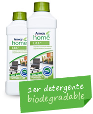 Hogar ecológico 1er Detergente Biodegradable